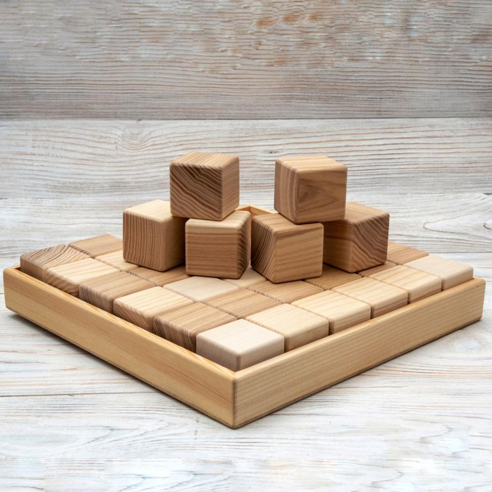 Набор кубиков на 36 шт 0