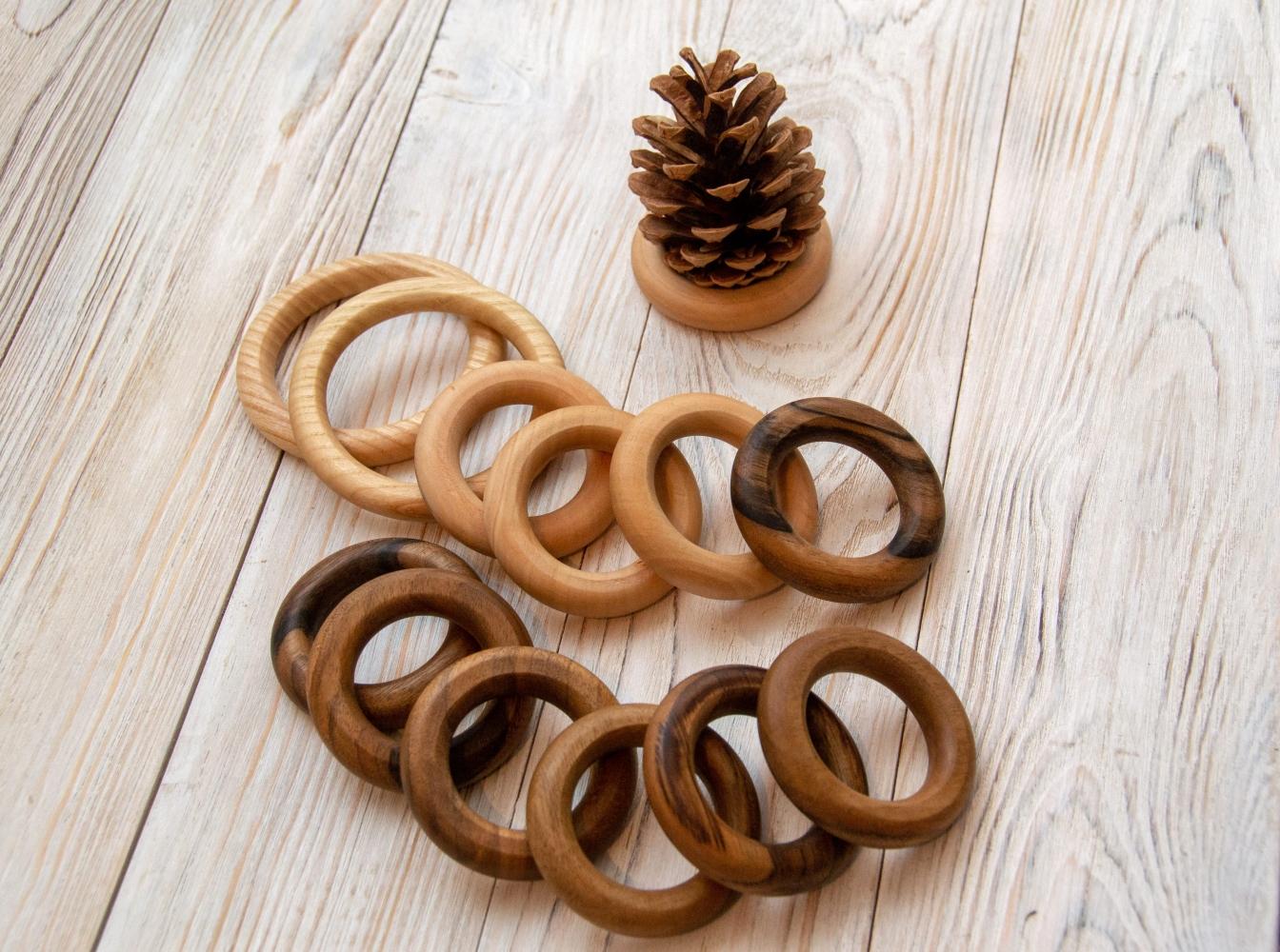 Деревянные кольца 0